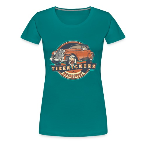 TIREKICKERS - V8 -Hotrod - Frauen Premium T-Shirt