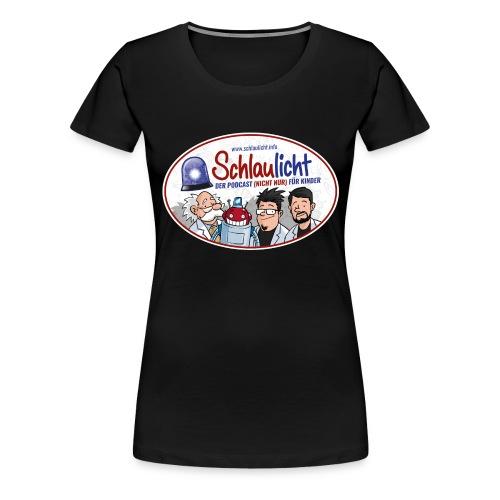 schlaulichter oval - Frauen Premium T-Shirt