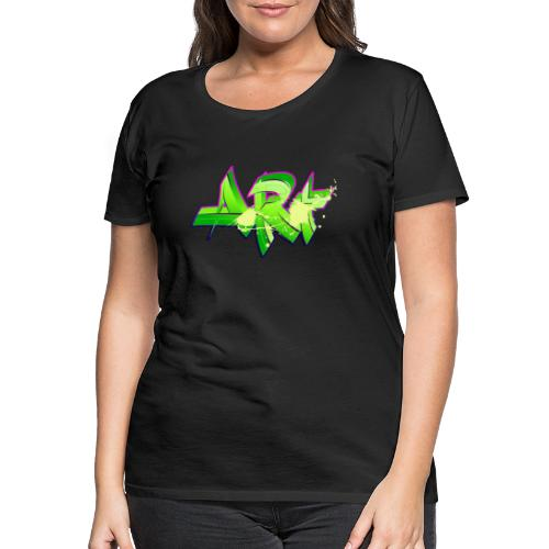 old school hip hop breakdance 17 - Premium-T-shirt dam
