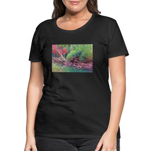 Rivière sauvage - T-shirt Premium Femme