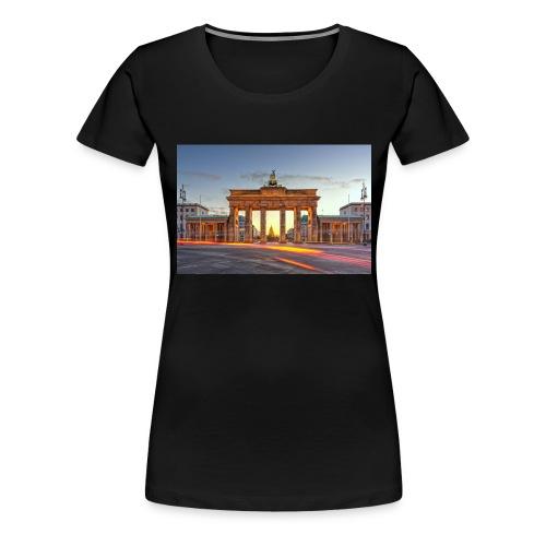 Berlin cup - Premium T-skjorte for kvinner