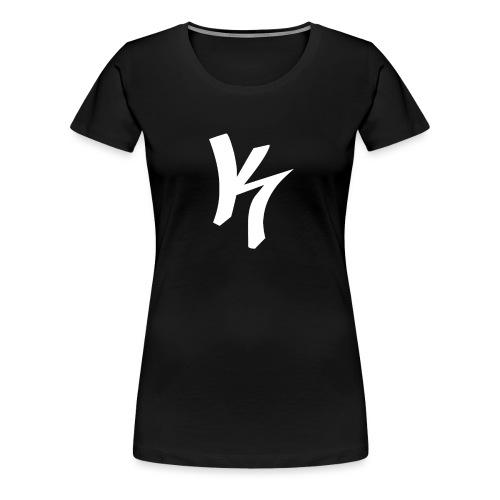 K-Snapback - Frauen Premium T-Shirt