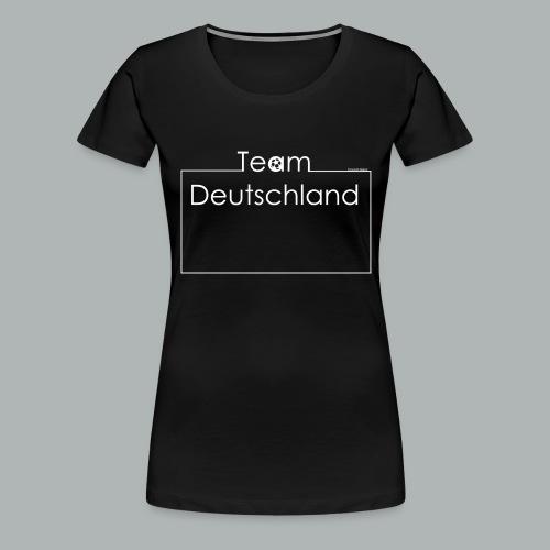 Baby Body Team Deutschland I Frameshirts - Frauen Premium T-Shirt