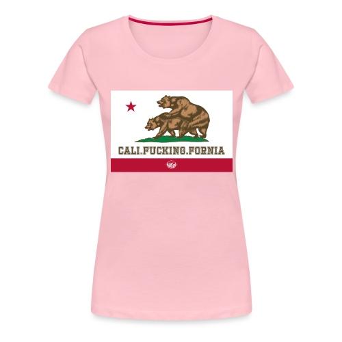 California, Californiano, Fuck, Orso - Maglietta Premium da donna