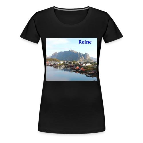Reine i Lofoten - Premium T-skjorte for kvinner