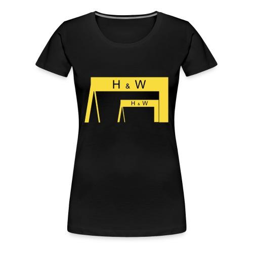Harland & Wolff - Women's Premium T-Shirt