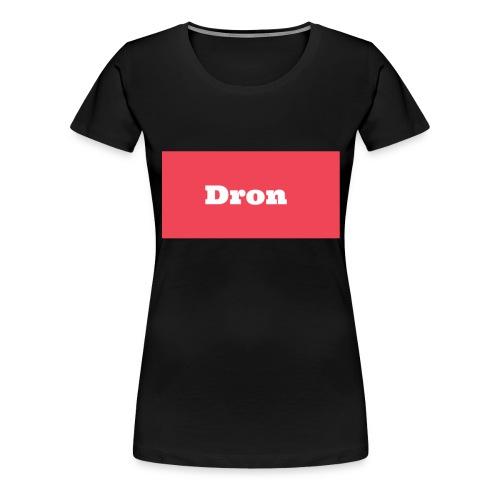 Dron - Premium-T-shirt dam