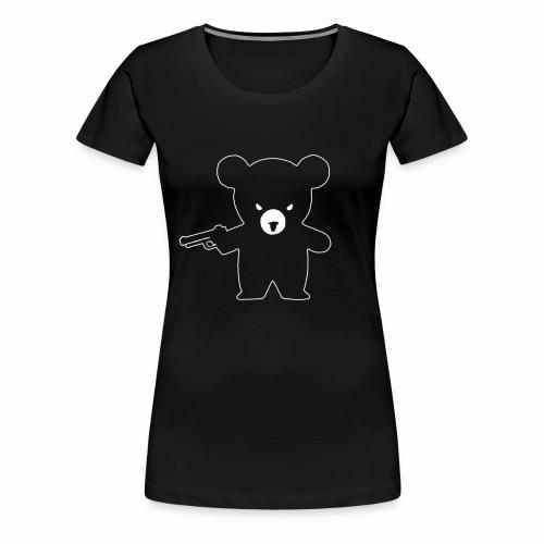 ausgeplüscht! - whiteline - Frauen Premium T-Shirt