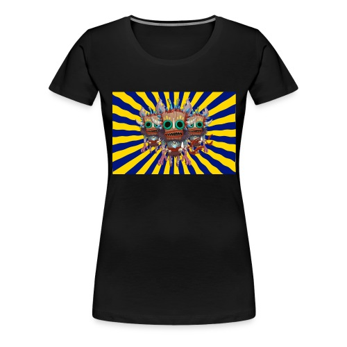Mind Bending Tiki Warriors - Women's Premium T-Shirt