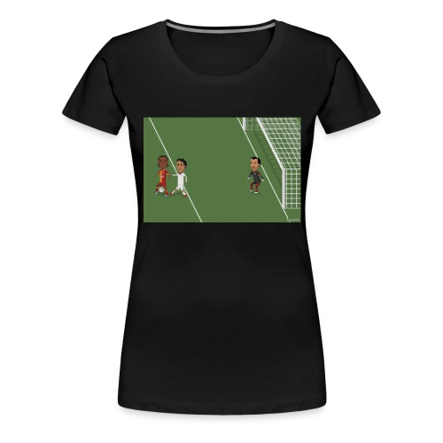 Backheel goal BG - Women's Premium T-Shirt