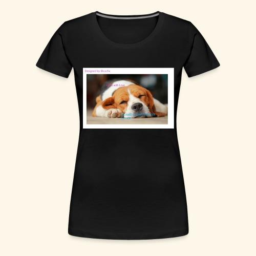 Fait avec amour - T-shirt Premium Femme