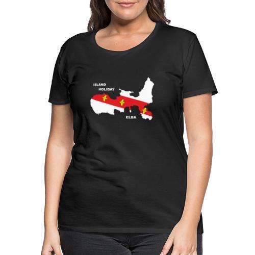 Elba Insel Urlaub Italien - Frauen Premium T-Shirt