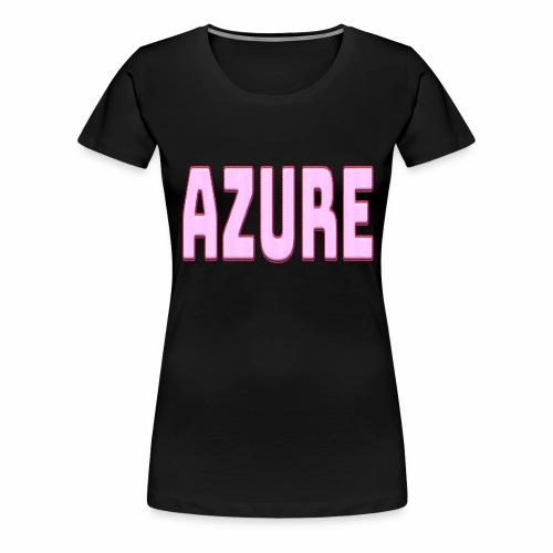 AZURE - T-shirt Premium Femme