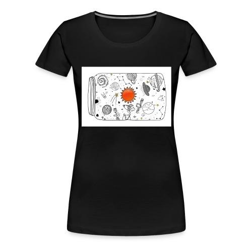 cosmos - Frauen Premium T-Shirt