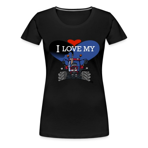 0841 0505 I love my IH - Vrouwen Premium T-shirt