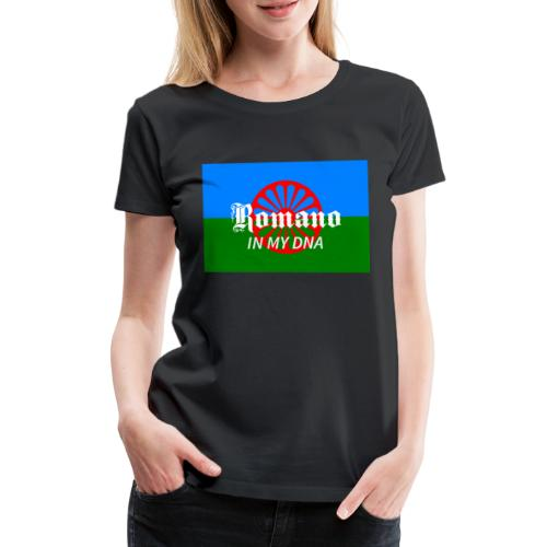 flaglennyinmydna - Premium-T-shirt dam