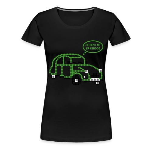 eendje.png - Vrouwen Premium T-shirt