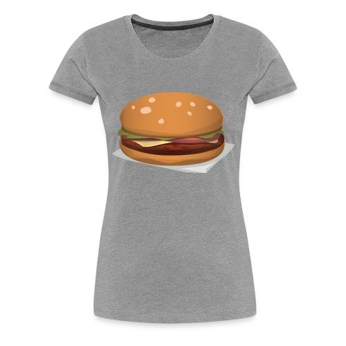 hamburger-576419 - Maglietta Premium da donna
