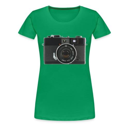 Vintage Camera Auto S3 - Maglietta Premium da donna