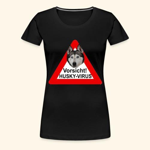 huskyvirus 1 - Frauen Premium T-Shirt