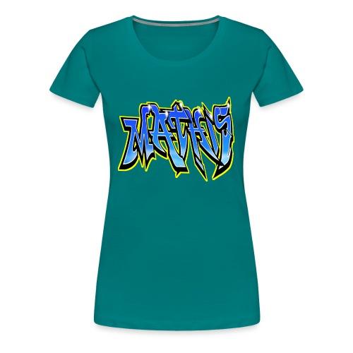 Graffiti Mathis - T-shirt Premium Femme