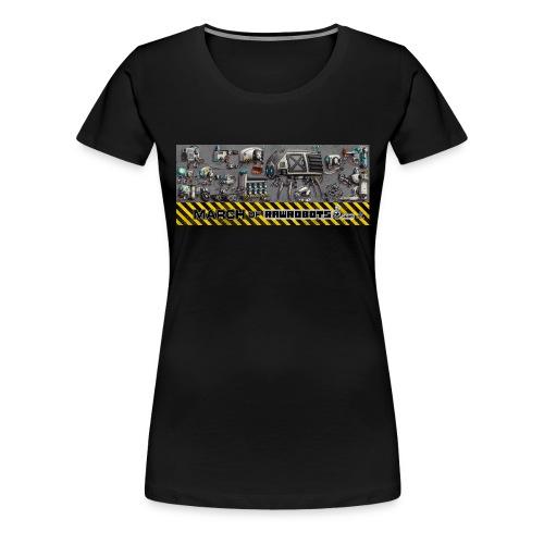 #MarchOfRobots ! LineUp Nr 1 - Dame premium T-shirt