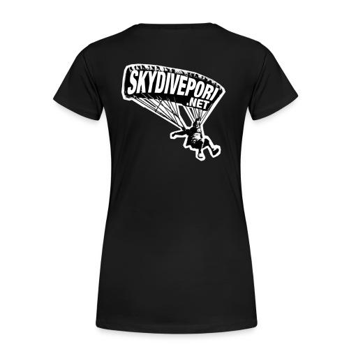 Hyppääjä - Naisten premium t-paita