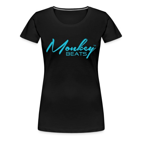 Monkey Beats - Türkis - Frauen Premium T-Shirt