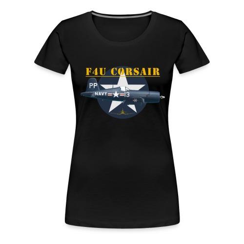 F4U-5P shirt design - Women's Premium T-Shirt