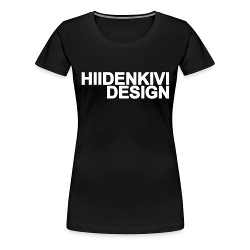 Hiidenkivi-White - Women's Premium T-Shirt