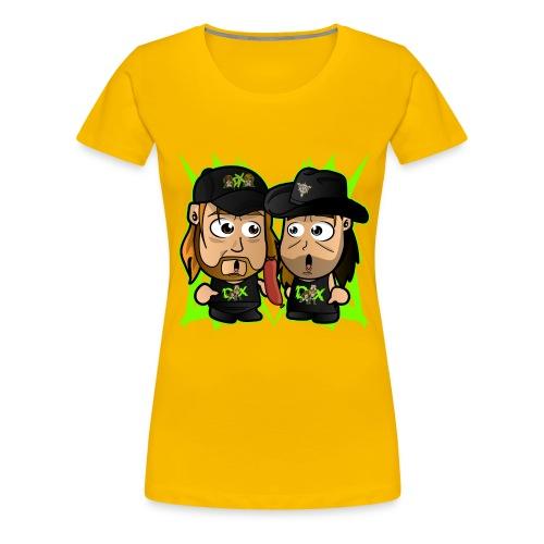 Chibi DX - Women's Premium T-Shirt