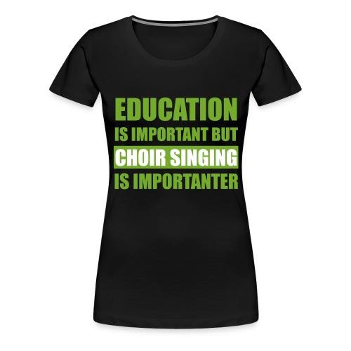 educationw - Frauen Premium T-Shirt