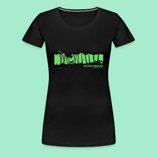 Beutel Regenwald - Frauen Premium T-Shirt