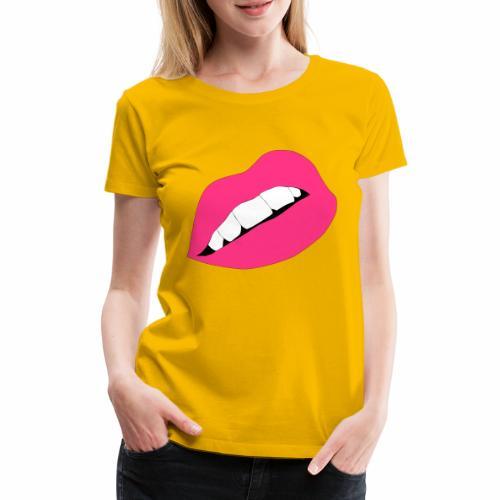 Usta - Koszulka damska Premium