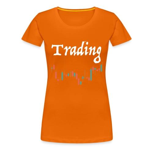 Trading lovers T-shirt - Maglietta Premium da donna