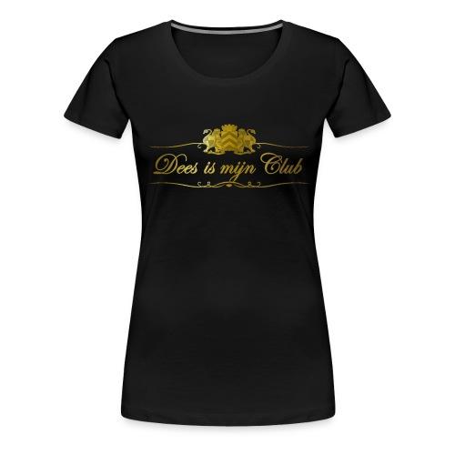 Dees is men club tshirt - Vrouwen Premium T-shirt
