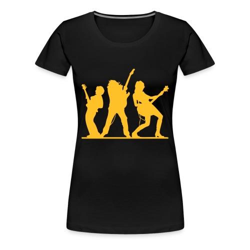 bass & gitarre - Frauen Premium T-Shirt