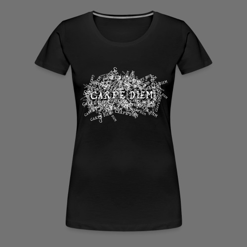 carpe diem (white) - Frauen Premium T-Shirt