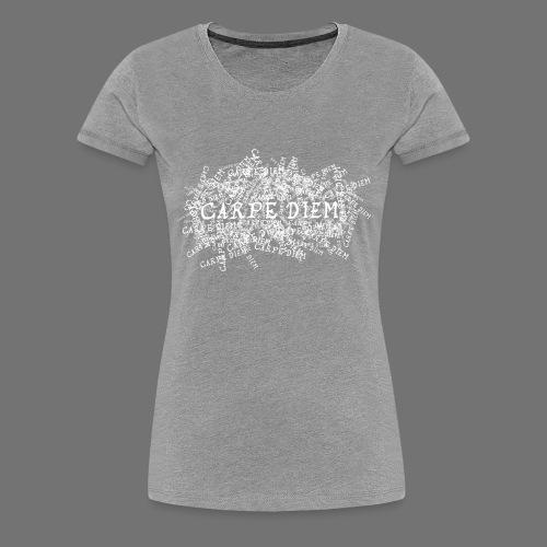 carpe diem (white) - Women's Premium T-Shirt