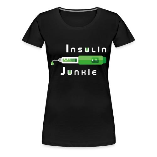 Insulin-Shirt-green - Frauen Premium T-Shirt