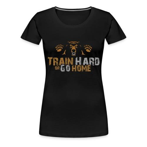 Training Bear Transparent Ohne Kontur - Frauen Premium T-Shirt