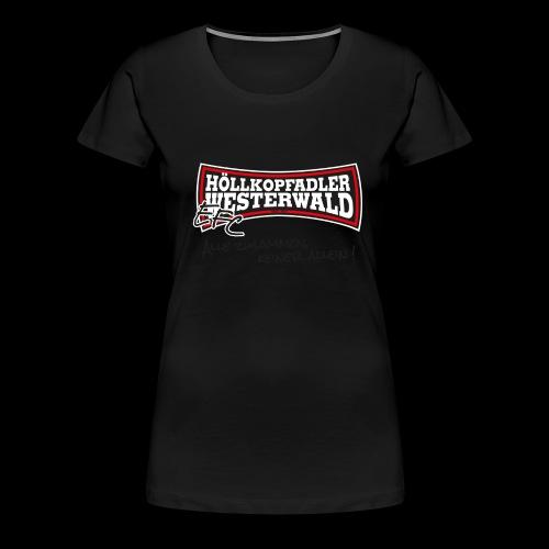 EFC Hoellkopfadler Westerwald - Frauen Premium T-Shirt