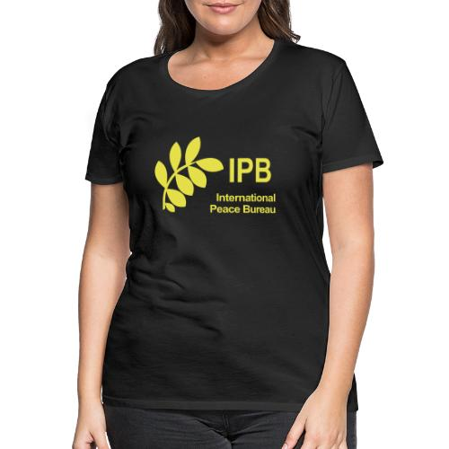 International Peace Bureau IPB Logo - Women's Premium T-Shirt