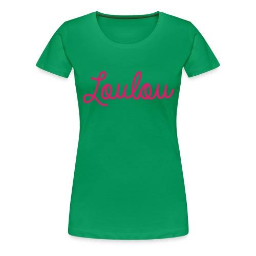 Logo-Roze - Vrouwen Premium T-shirt