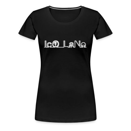 IcO LaNe Logo White - Frauen Premium T-Shirt