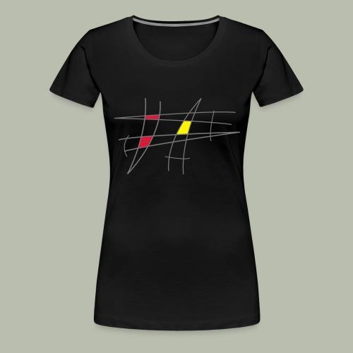 Design 50er Jahre - Frauen Premium T-Shirt
