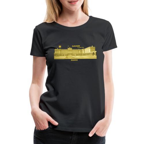 Summer Madrid City Spanien Spain Palacio Real - Frauen Premium T-Shirt