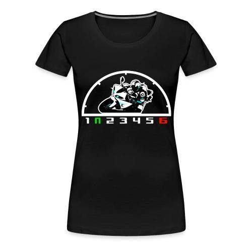 R1 1UP6DOWN - Frauen Premium T-Shirt