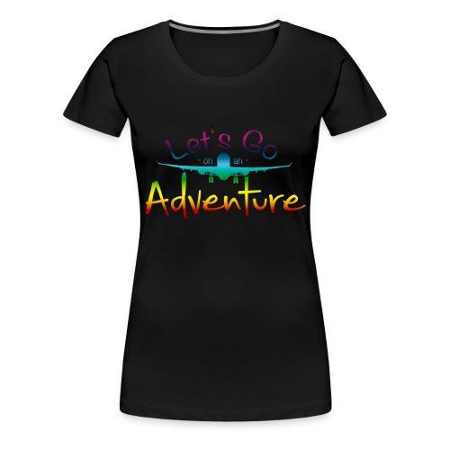 Adventure CL - Vrouwen Premium T-shirt