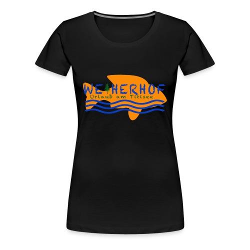 Weiherhof - Frauen Premium T-Shirt